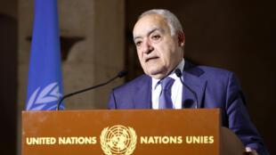 الموفد الأممي إلى ليبيا غسان سلامة
