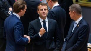 من أجواء القمة الأوروبية
