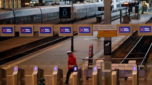 إقفال إحدى محطات القطار في فرنسا