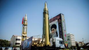 ساحة بايرستان في طهران27 أيلول 2017