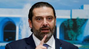 رئيس الوزراء اللبناني سعد الحريري-
