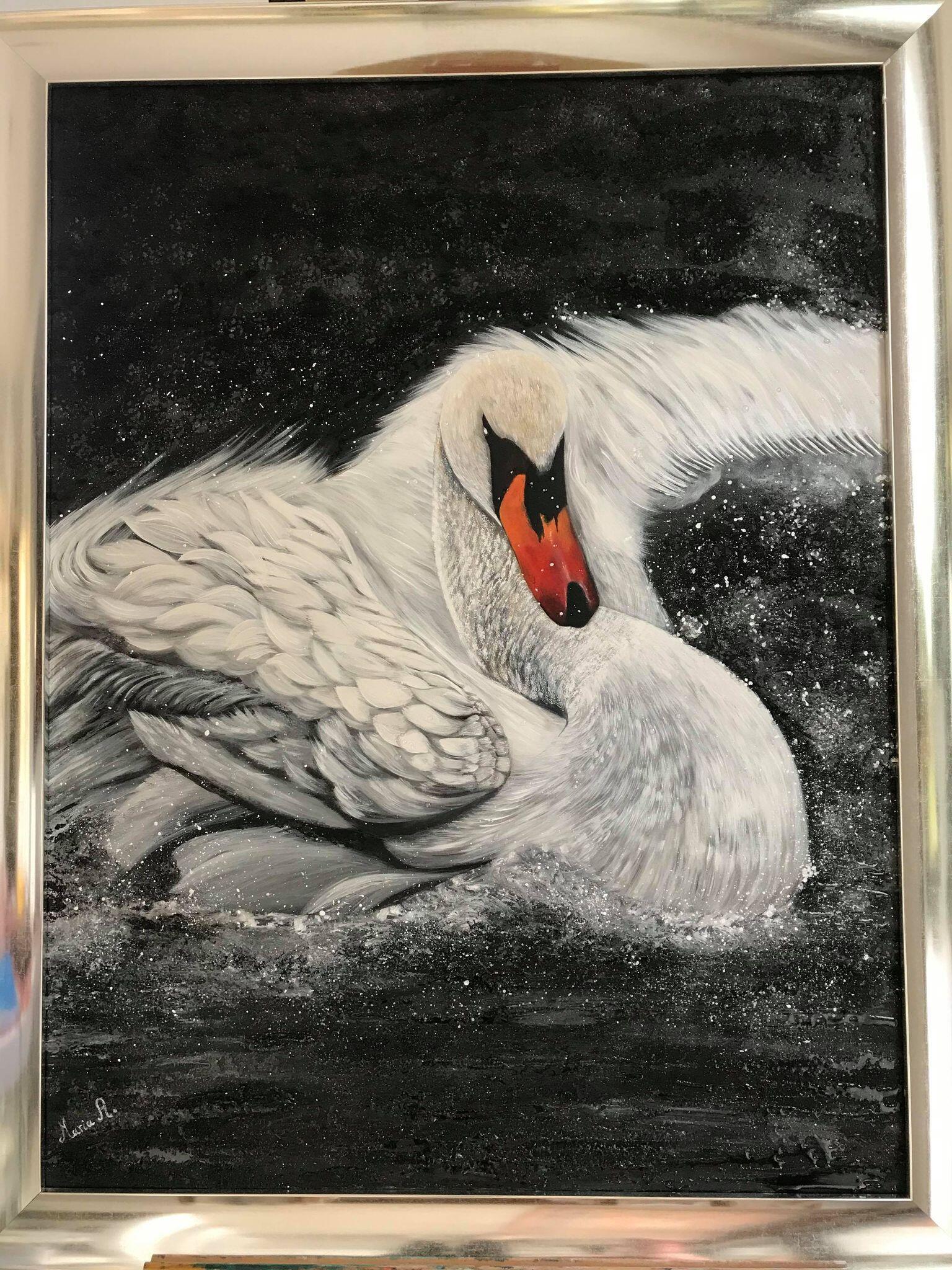 لوحة4 - الفنانة ماريا الأشمر