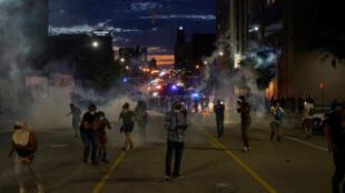 مظاهرات في ولاية مينيسوتا