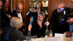 إريك فويياري يفوز بجائزة كونكور الأدبية الفرنسية