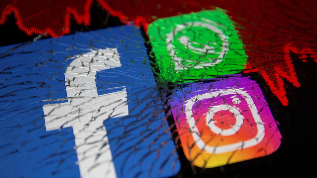فيسبوك وانستغرام وواتساب