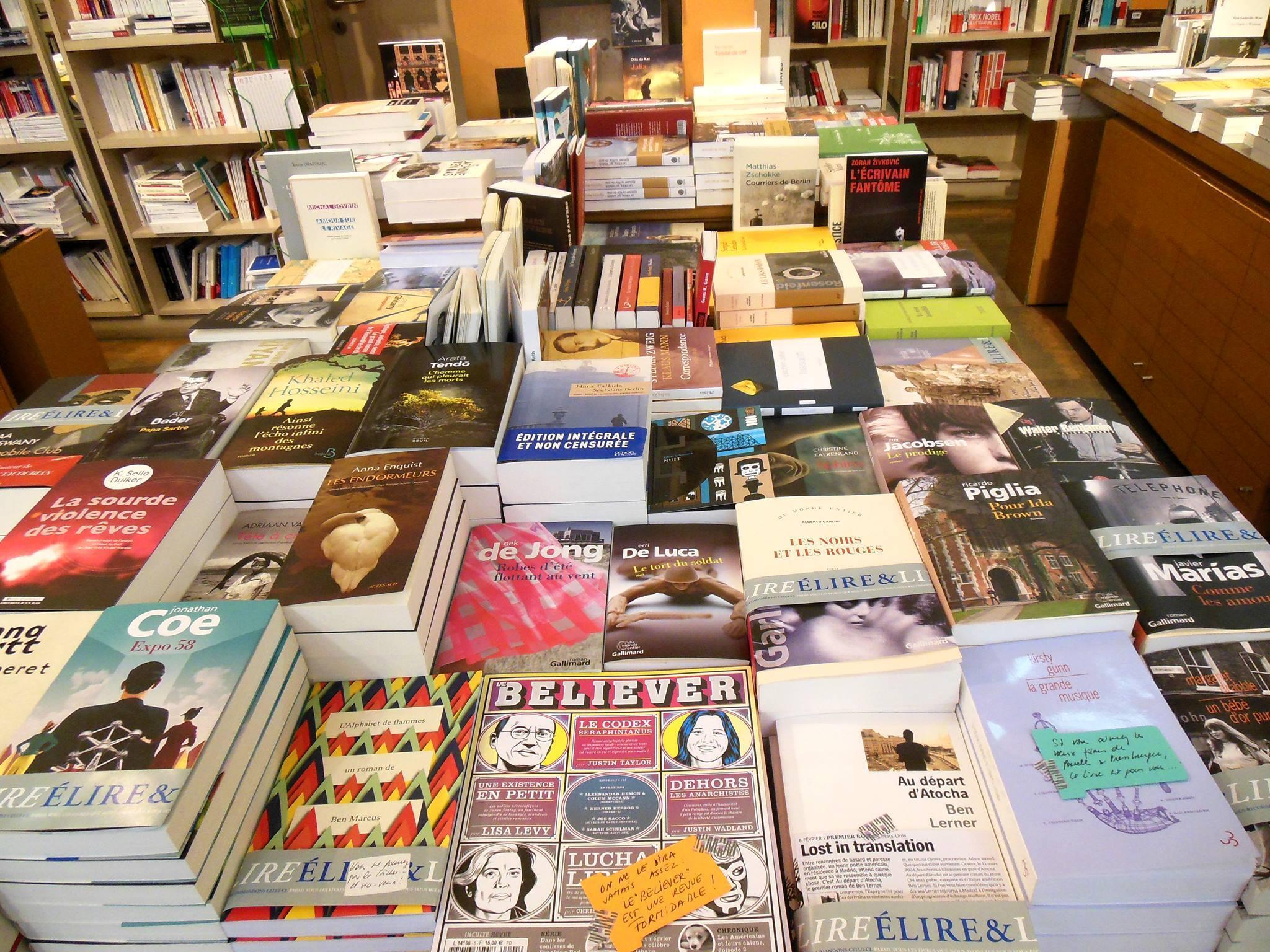 librairie bruxelles