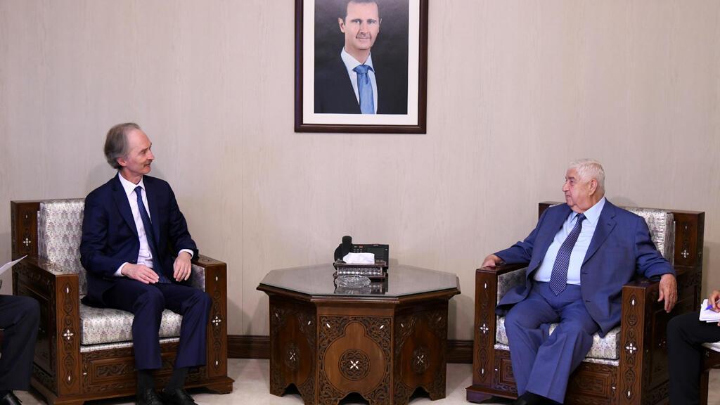 دمشق الأمم المتحدة بصدد الاتفاق على تشكيل لجنة لدستور سوريا