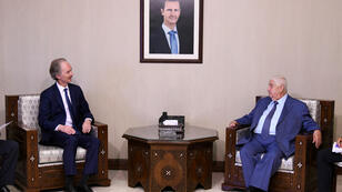 المبعوث الأممي الى سوريا