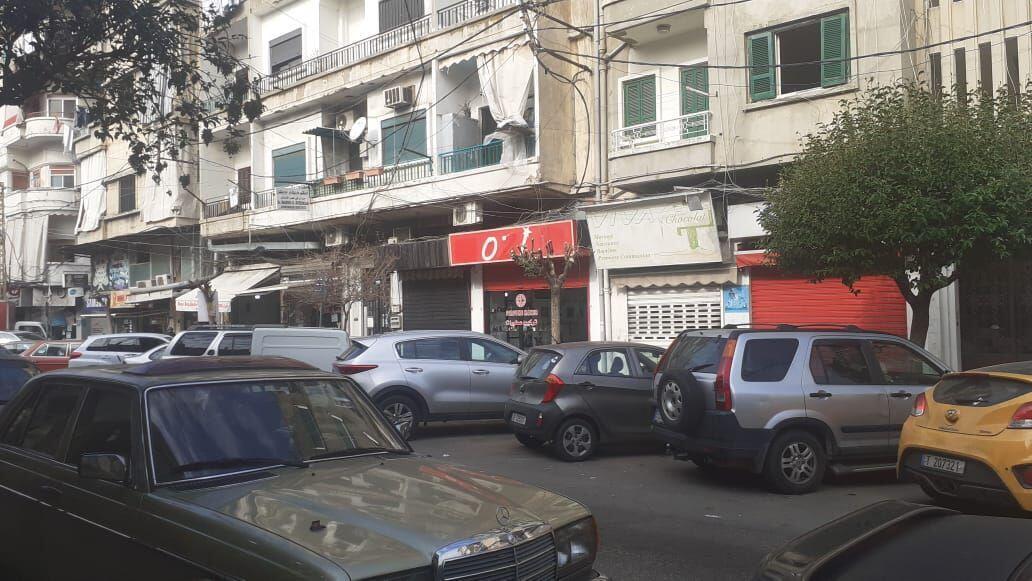 شوارع بيروت شبه خالية في فترة أعياد الميلاد ورأس السنة ( ديسمبر 2020)