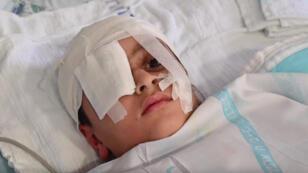 الطفل الفلسطيني عبد الرحمن شتيوي
