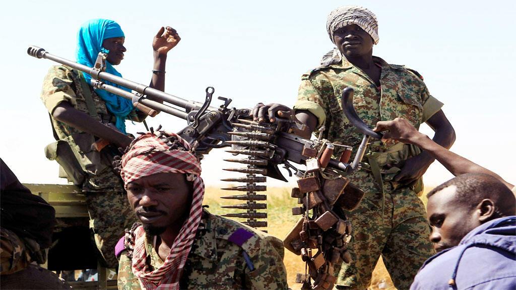 ثوار من دارفور