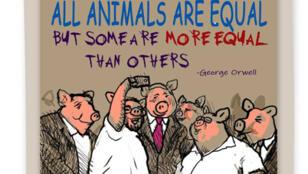 الرسم الكاريكاتوري الذي طرد من أجله الرسام من الصحيفة الاسرائيلية