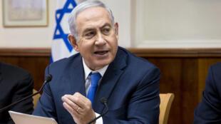 الرئيس الوزراء الإسرائيلي  بنيامين نتانياهو