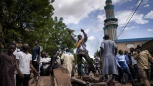 مظاهرات في مالي