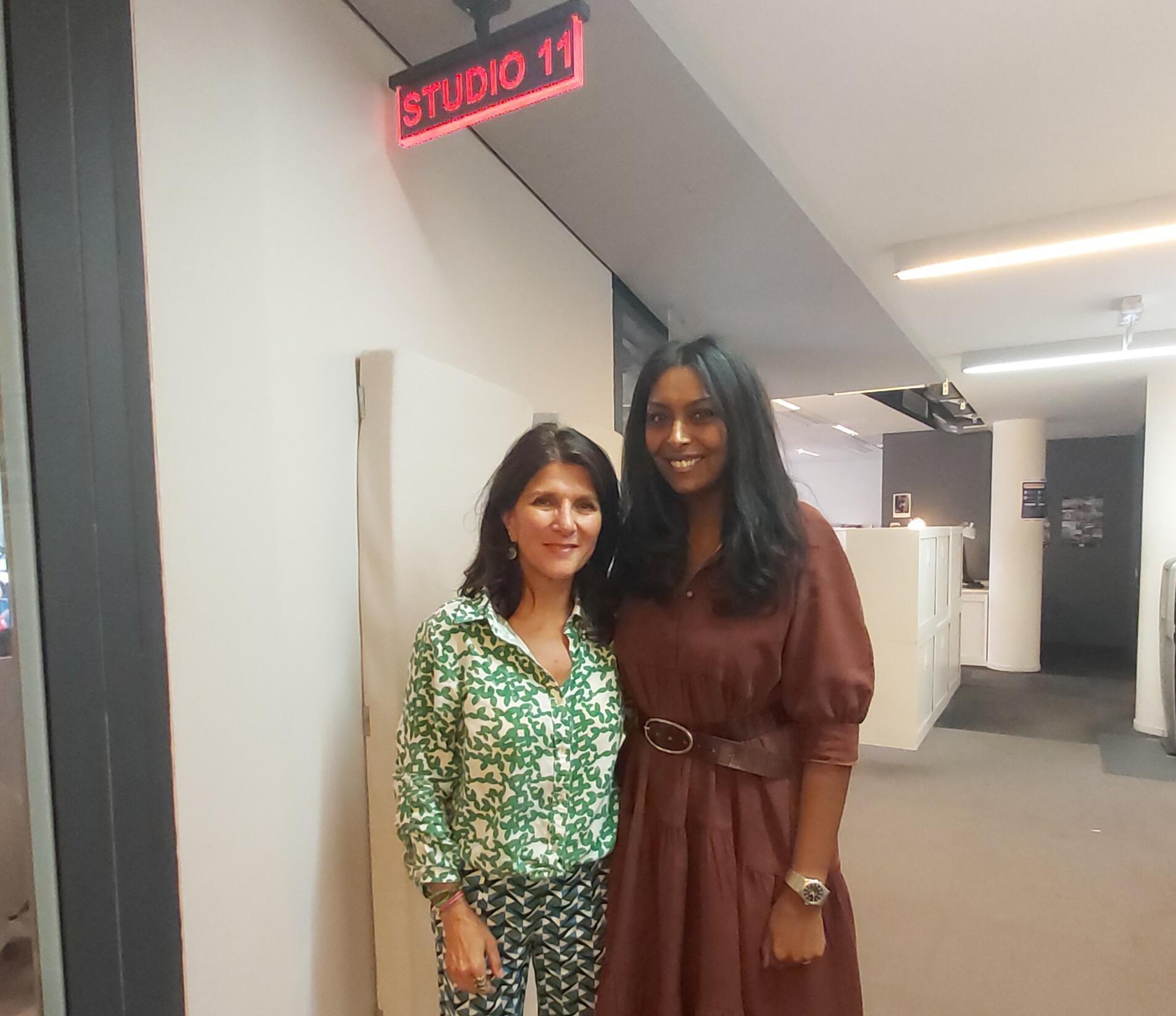 Zeina Toutounji and Samira Ibrahim