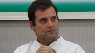 راهول غاندي الزعيم السابق لحزب المؤتمر الهندي