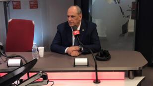 وزير الاعلام اللبناني جمال الجراح ضيف مونت كارلو الدولية