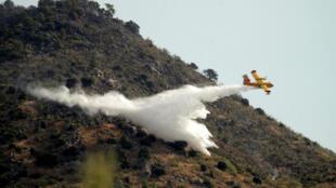 مكافحة الحرائق في إسبانيا