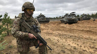 احد التدريبات للجيش البريطاني