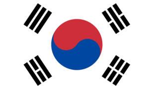 - علم كوريا الجنوبية