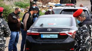 السيارة التي وجد بداخلها الناشر لقمان سليم مقتولاً بجنوب لبنان