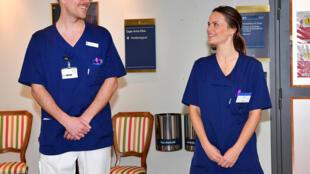 أميرة السويد صوفيا تلتحق بطواقم الرعاية الصحية