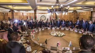 الجامعة العربية خلال اجتماعها يوم 1 فبراير/ شباط 2020