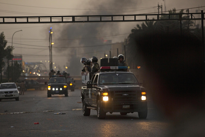 forces de securité irak bassora
