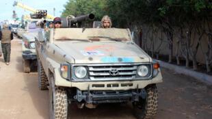 قوات تابعة لحكومة الوفاق المعترف بها دولياً