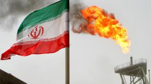 حقل نفط ايراني