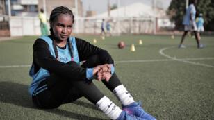 لاعبة كرة القدم السودانية ريان إبراهيم رجب