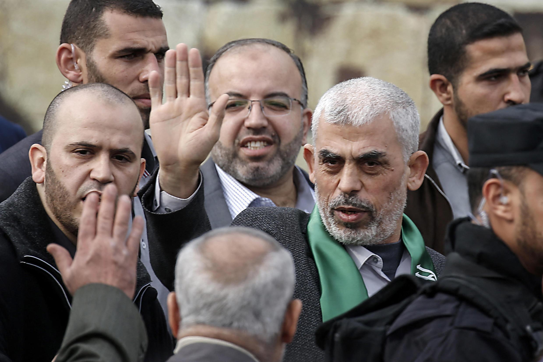 يحيى السنوار، زعيم حماس في قطاع غزة