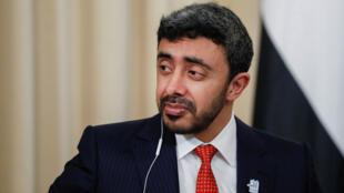 وزير الخارجية الإماراتي الشيخ عبد الله بن زايد آل نهيان -