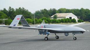 طائرة بدون طيار تركية