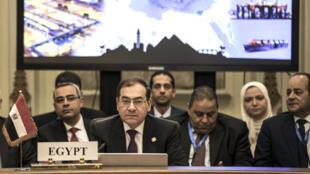 وزير الطاقة المصري طارق الملا في القاهرة