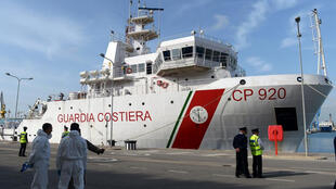 سفينة غريغوريتي التابعة لخفر السواحل الإيطاليين