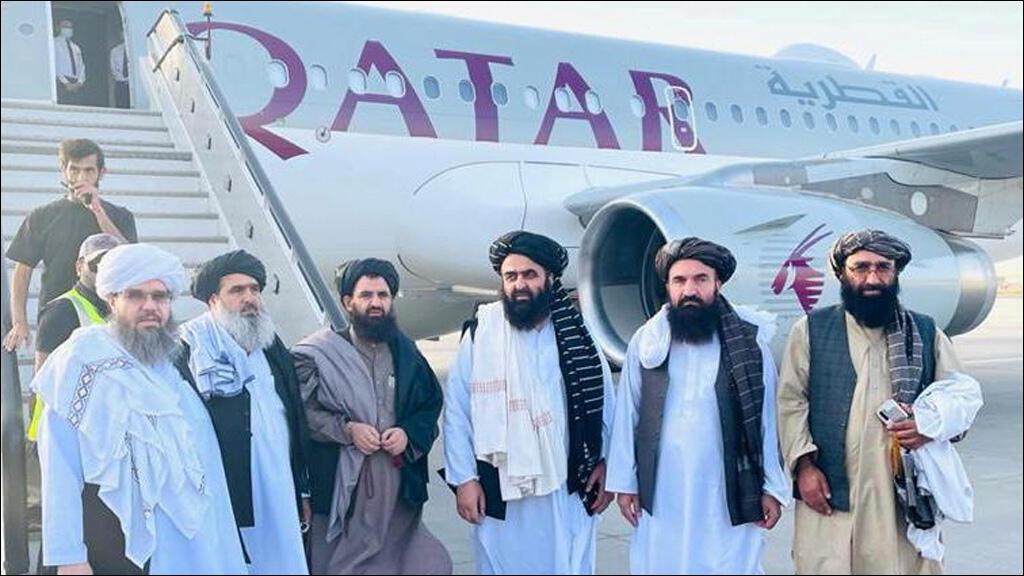 """وفد حركة """"طالبان"""" يصل إلى العاصمة القطرية الوحة"""
