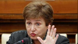 مديرة  صندوق النقد الدولي كريستالينا جورجيفا