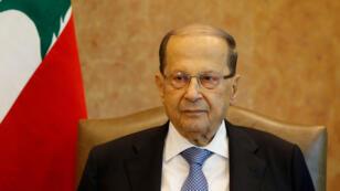 رئيس الجمهورية اللبناني ميشال عون