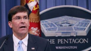 مارك إسبر وزير الدفاع الأمريكي الجديد-