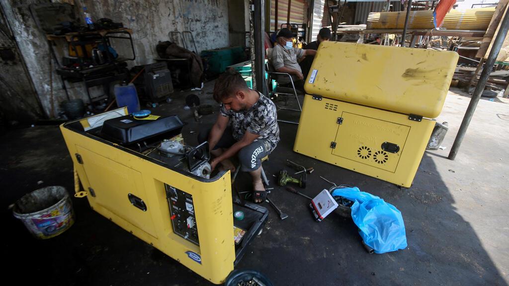 إصلاح مولدات كهربائية في البصرة بالعراق