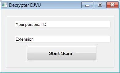 موقع مزيف يقترح خدمة لفك تشفير الملفات ضحية برنامج الفدية STOP Djvu