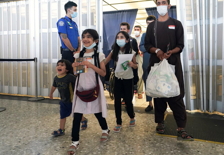 اطفال أفغان