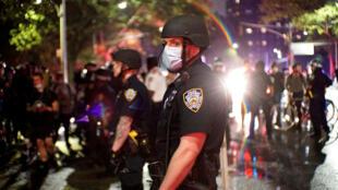 الشرطة الأمريكية في نيويورك