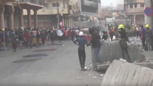 تواصل المظاهرات في العراق يوم 28 نوفمبر 2019