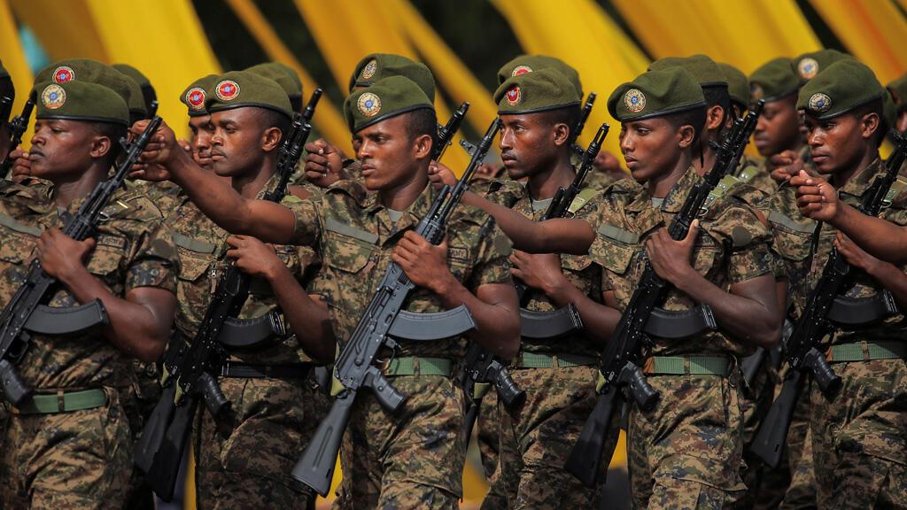 عناصر من الجيش الأثيوبي في أديس أبابا