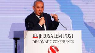ئيس الوزراء الاسرائيلي بنيامين نتانياهو