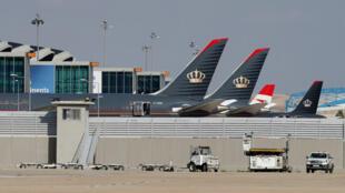 في مطار عمّان الدولي