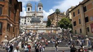 السلالم الاسبانية في روما