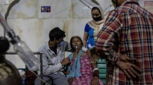 إصابات قياسية بفيروس كورونا في الهند